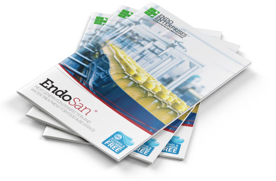 Food and beverage water disinfection brochure