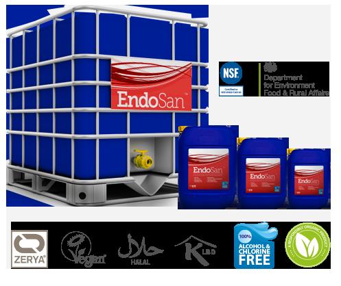 EndoSan pack sizes
