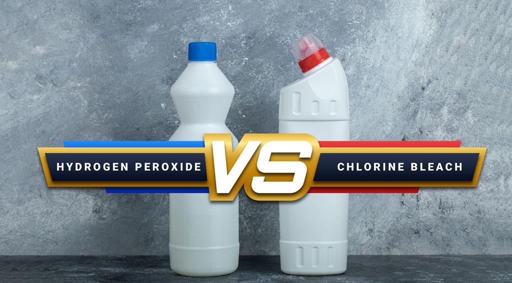 Hydrogen Peroxide vs Bleach