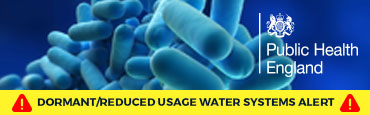 Public Health England issue Legionella Warning