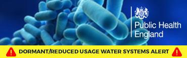 Public Health England issue Legionella Warning